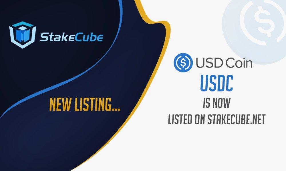 USDC i USDT jest już dostępne na StakeCube