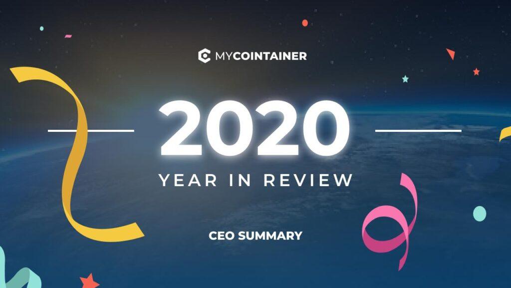 2020 MyCointainer - coroczna aktualizacja