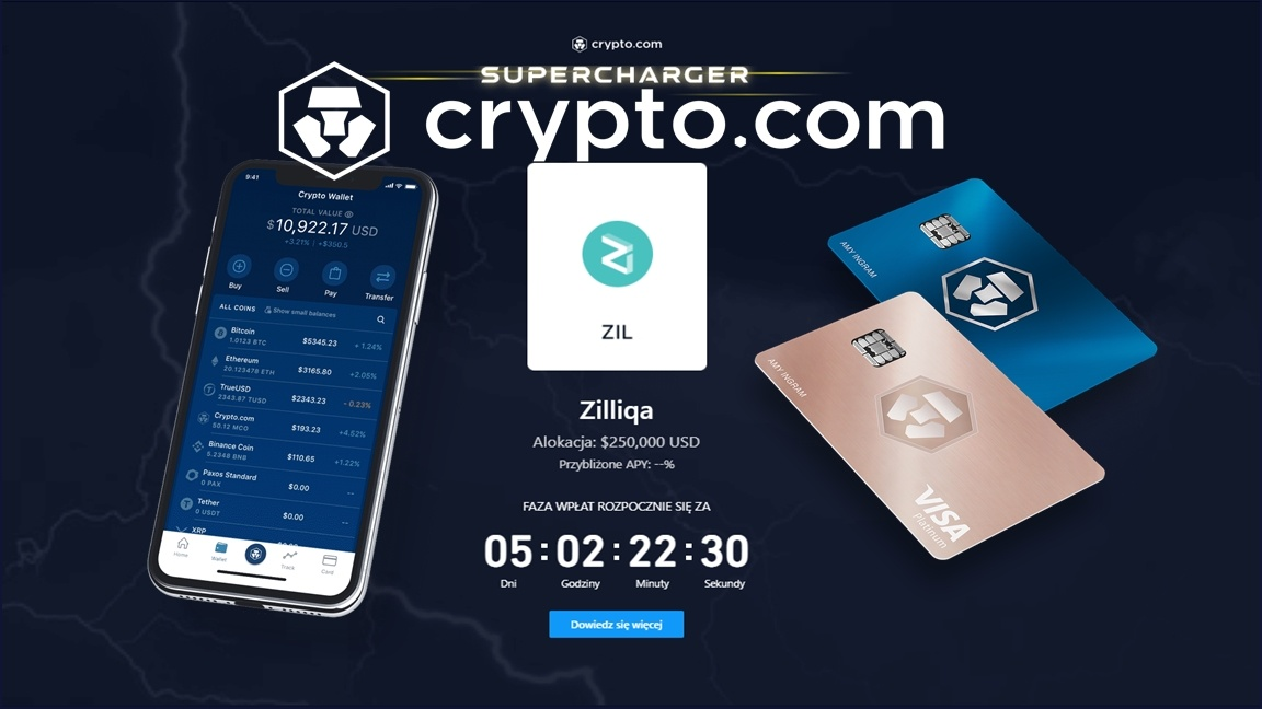 Crypto.com – Supercharger Zilliqa (ZIL)