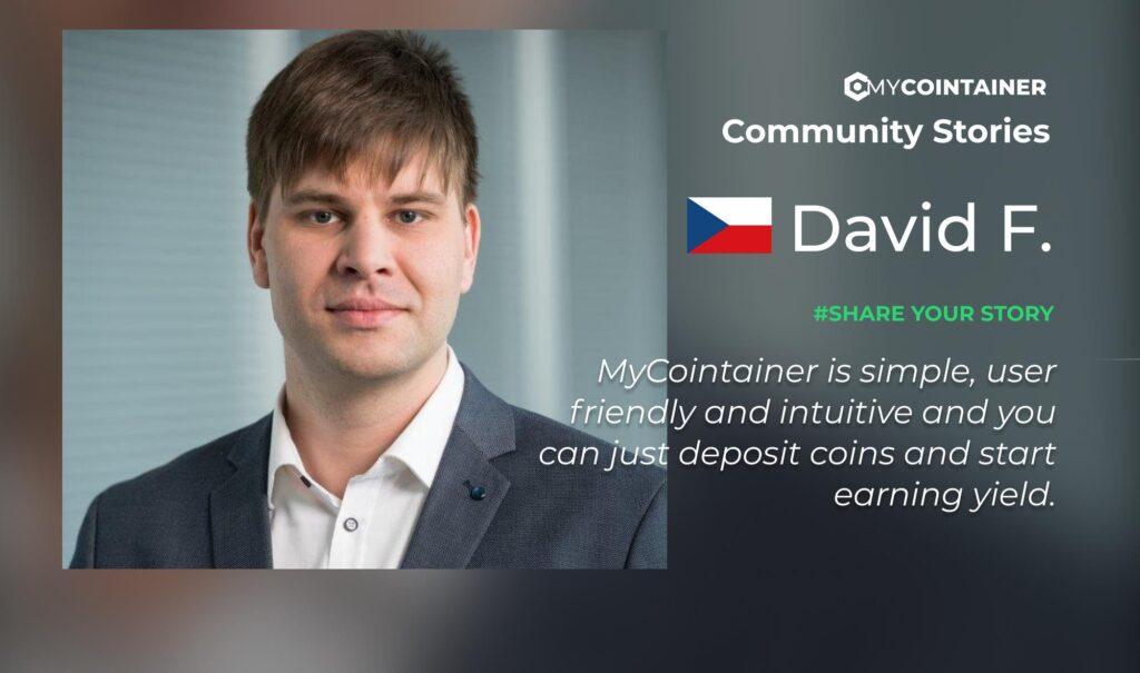 Historie społeczności MyCointainer - # 2 David