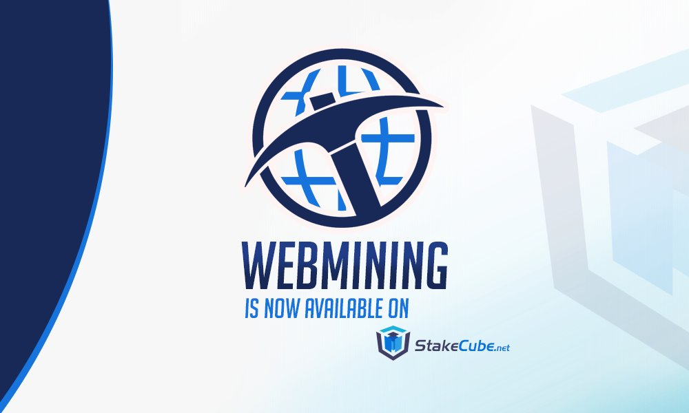 Możesz teraz wydobywać SCC za pomocą telefonu lub komputera bezpośrednio na swoje konto StakeCube!