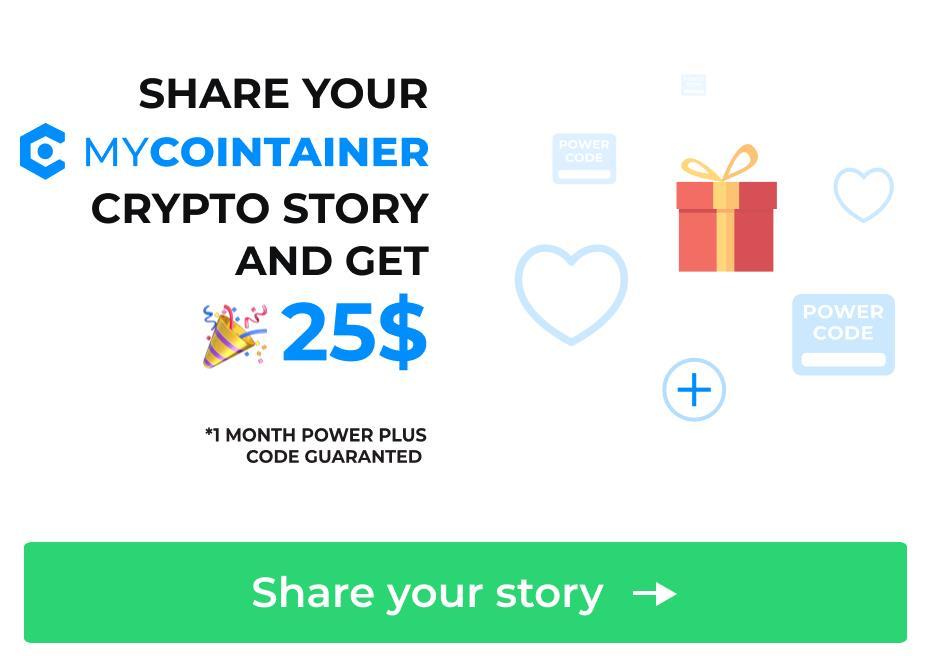 MyCointainer, historie użytkowników