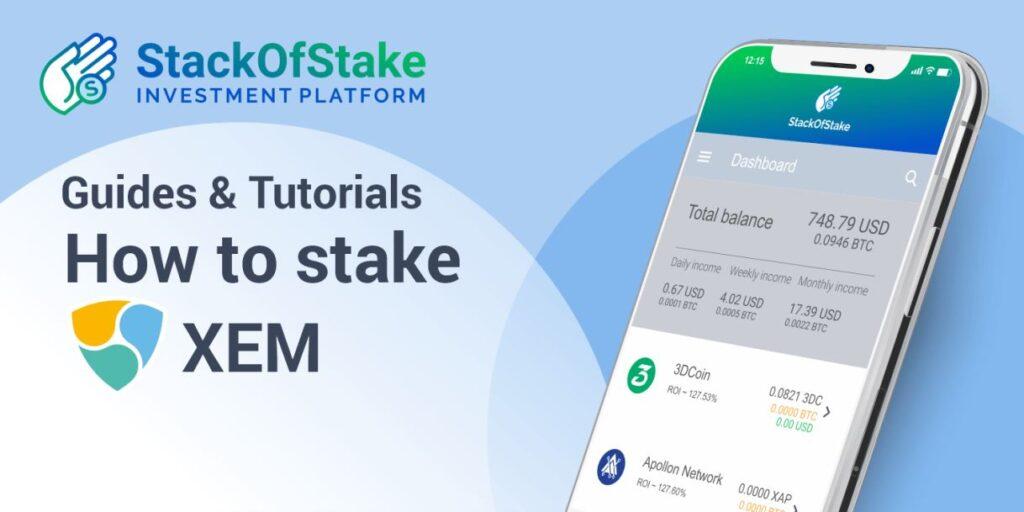 NEM (XEM) wymienione na platformie StackOfStake