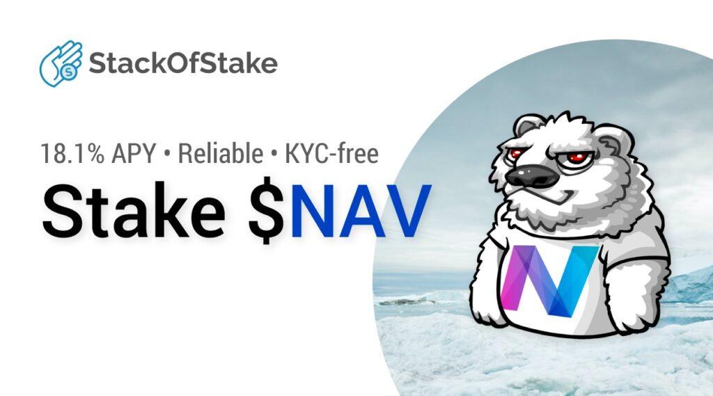 StackOfStake pasywny dochód za swoje NAV