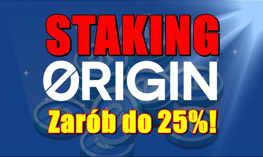 Staking Origin Tokens OGN. Zarób do 25%!