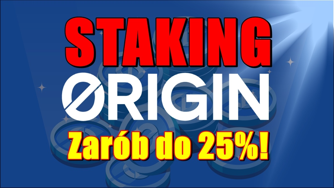 Staking Origin Tokens OGN. Zarób do 25%!