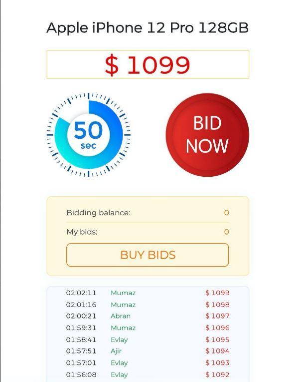 Uzyskanie 1000% zwrotu gotówki w 60 sekund Aukcja EDC to umożliwia! 6
