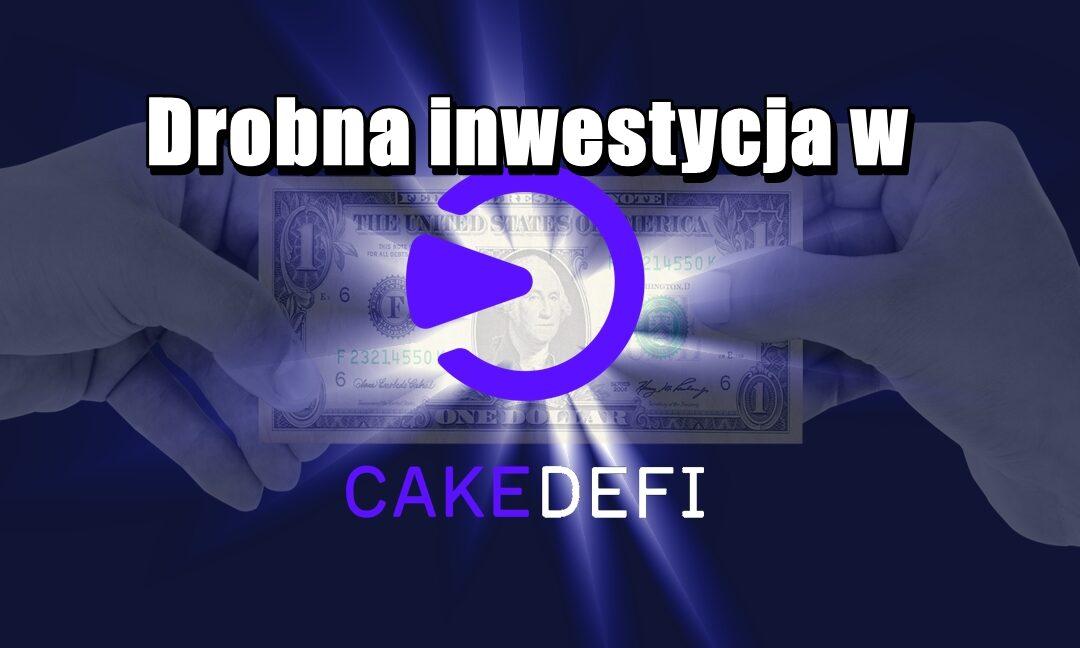 Drobna inwestycja w CAKEDEFI
