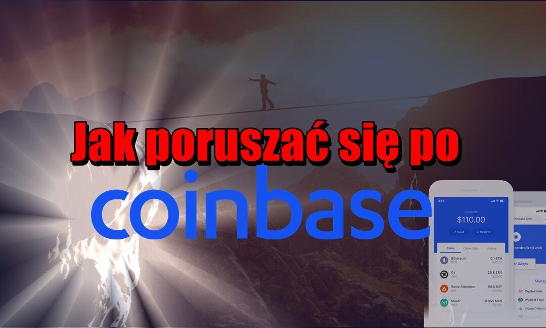 Jak poruszać się po Coinbase