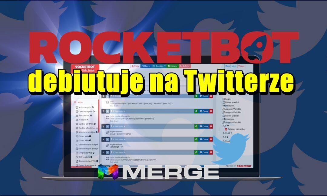 RocketBot debiutuje na Twitterze