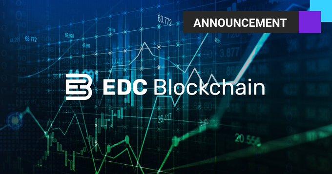 1 lutego 2021 r. zaktualizowali EDC Blockchain