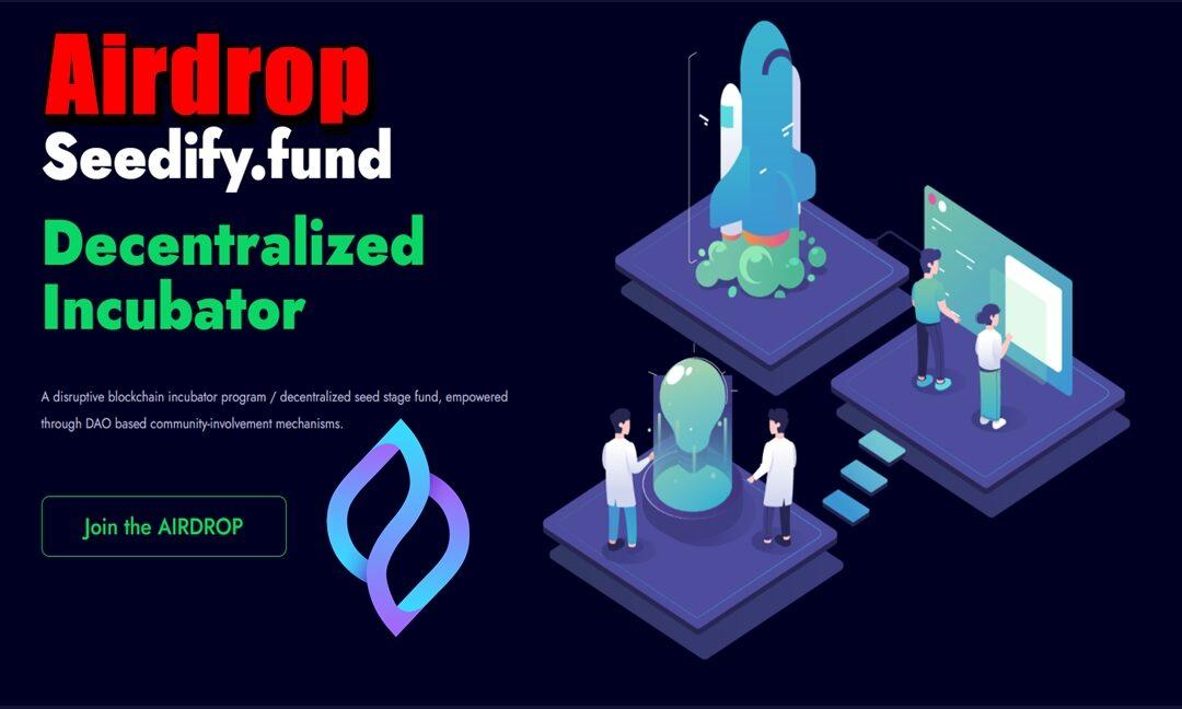 Airdrop Seedify.fund (SFUND)