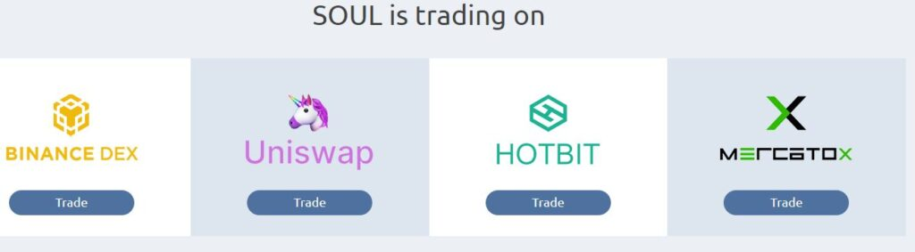 Gdzie kupić sprzedać token SOUL