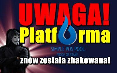 UWAGA! Platforma Simple Pos Pool znów została zhakowana!