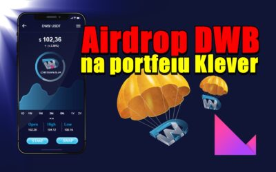 Airdrop DWB na portfelu Klever