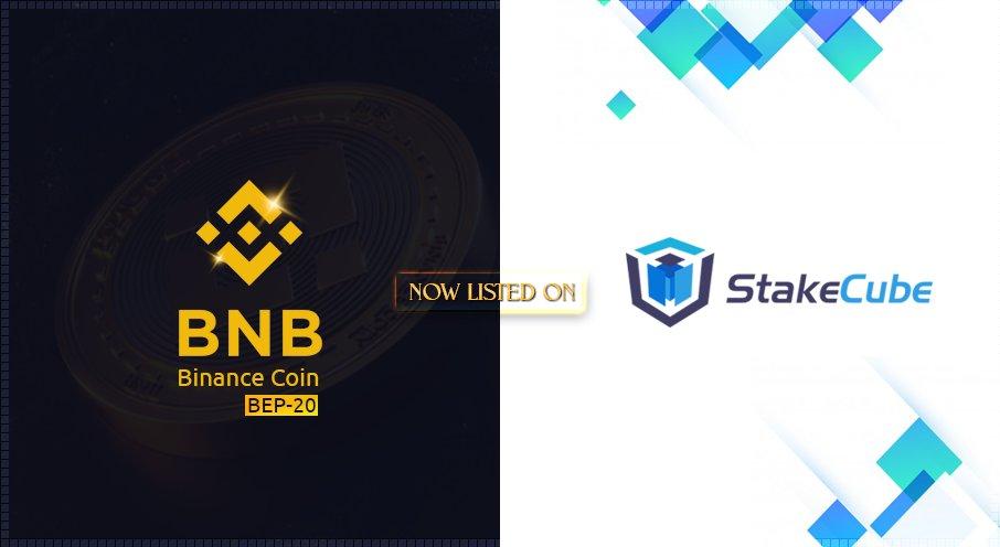BNB (BEP-20) jest teraz notowane na StakeCube
