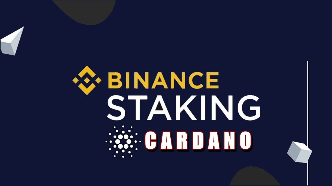 Binance staking: Cardano
