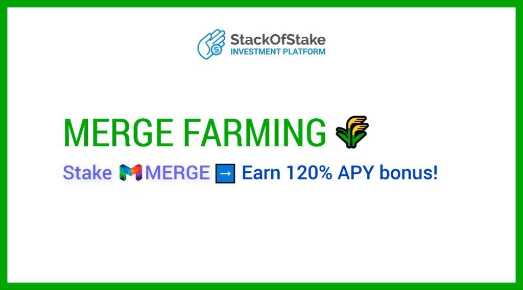 MERGE StakeDrop - Postaw SCRIV, aby zarobić MERGE