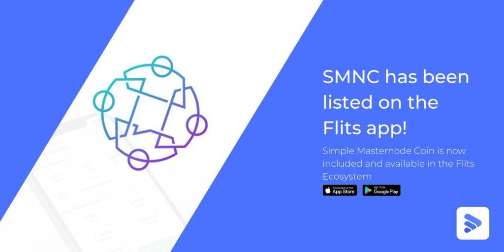 SMNCcoinw w aplikacji Flits