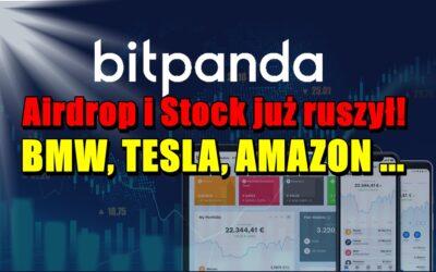BitPanda Airdrop i Stock już ruszył – BMW, TESLA, AMAZON …
