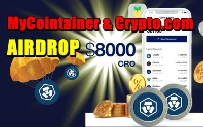 MyCointainer & Crypto.com – AIRDROP