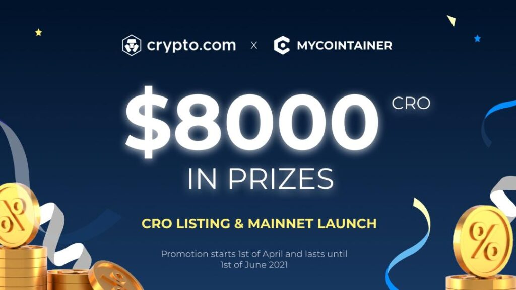 MyCointainer & Crypto.com - Airdrop 2