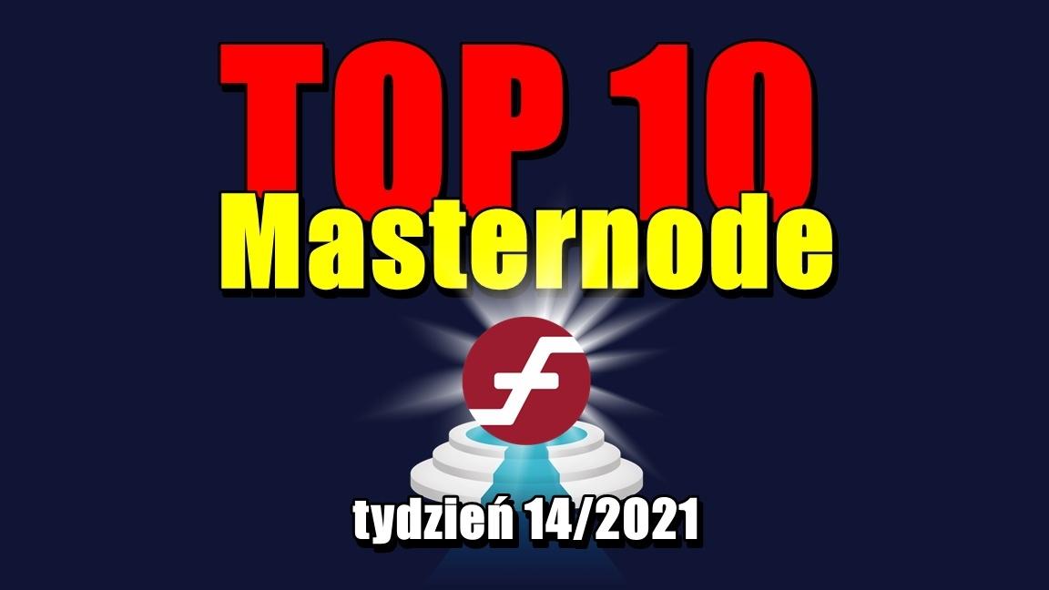 TOP 10 Masternode – tydzień 14/2021