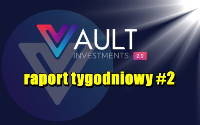 VAULT Crypto Investments, raport tygodniowy #2