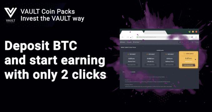 Zacznij zarabiać już teraz w Vault Investments dzięki tej niesamowitej kwietniowej ofercie