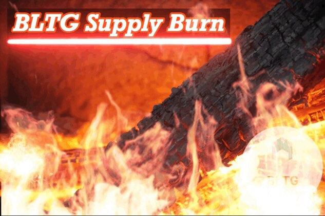 przedstawiciele BLTG z przyjemnością informują o spaleniu zapasów BLTG
