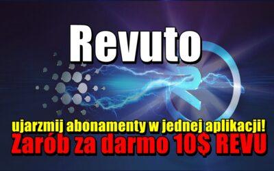 Revuto, ujarzmij abonamenty w jednej aplikacji! Zarób za darmo 10$ REVU