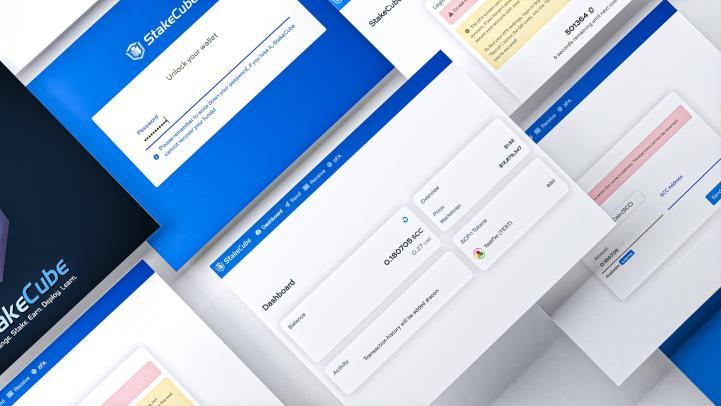 StakeCube informacje z 7 maja 2021 r. GUI