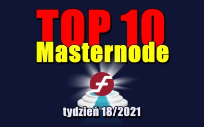 TOP 10 Masternode – tydzień 18/2021