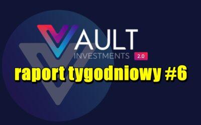 VAULT Crypto Investments, raport tygodniowy #6