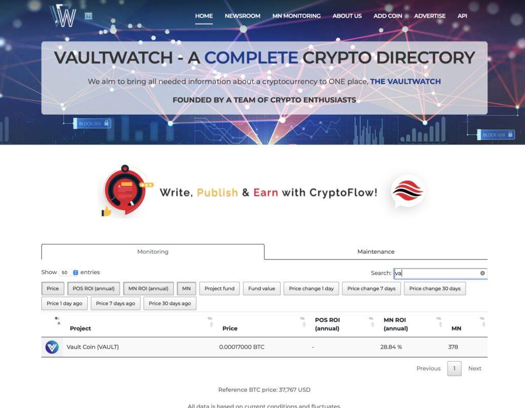 VAULT Crypto Investments, raport tygodniowy #8 3
