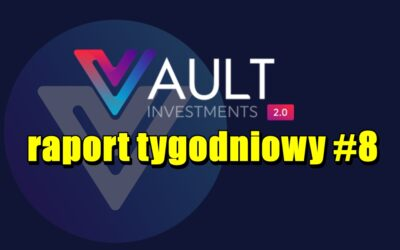 VAULT Crypto Investments, raport tygodniowy #8