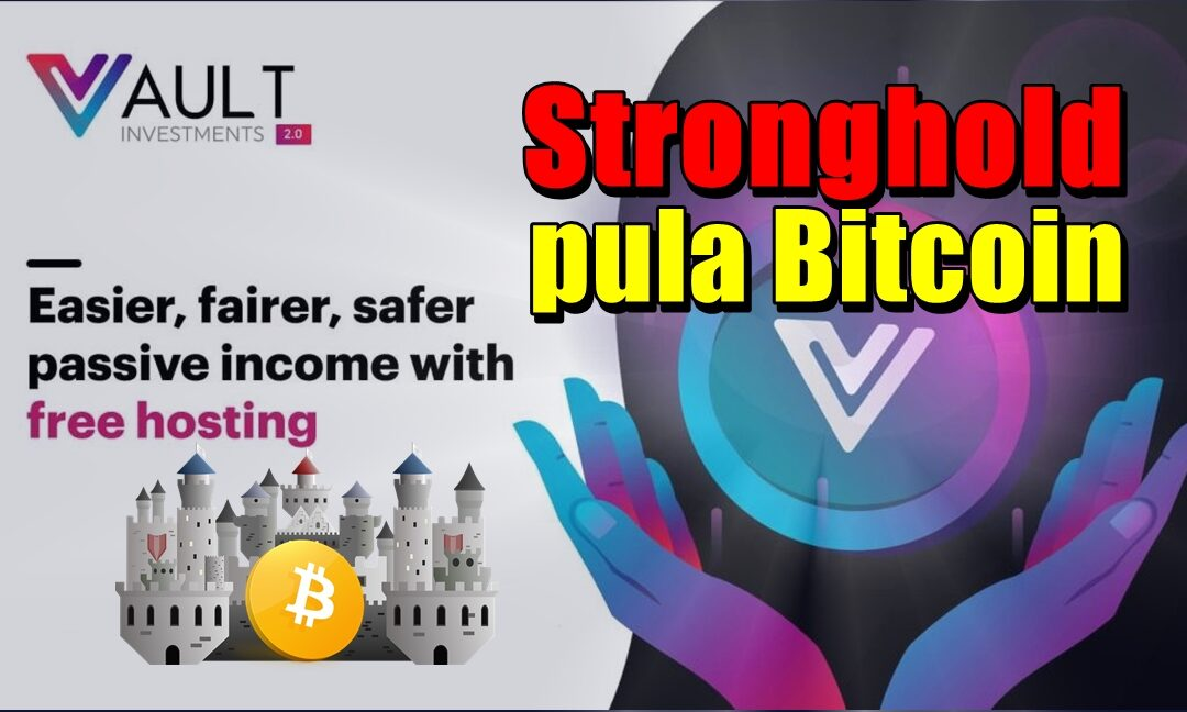 VAULT.Investments Stronghold – pula Bitcoin