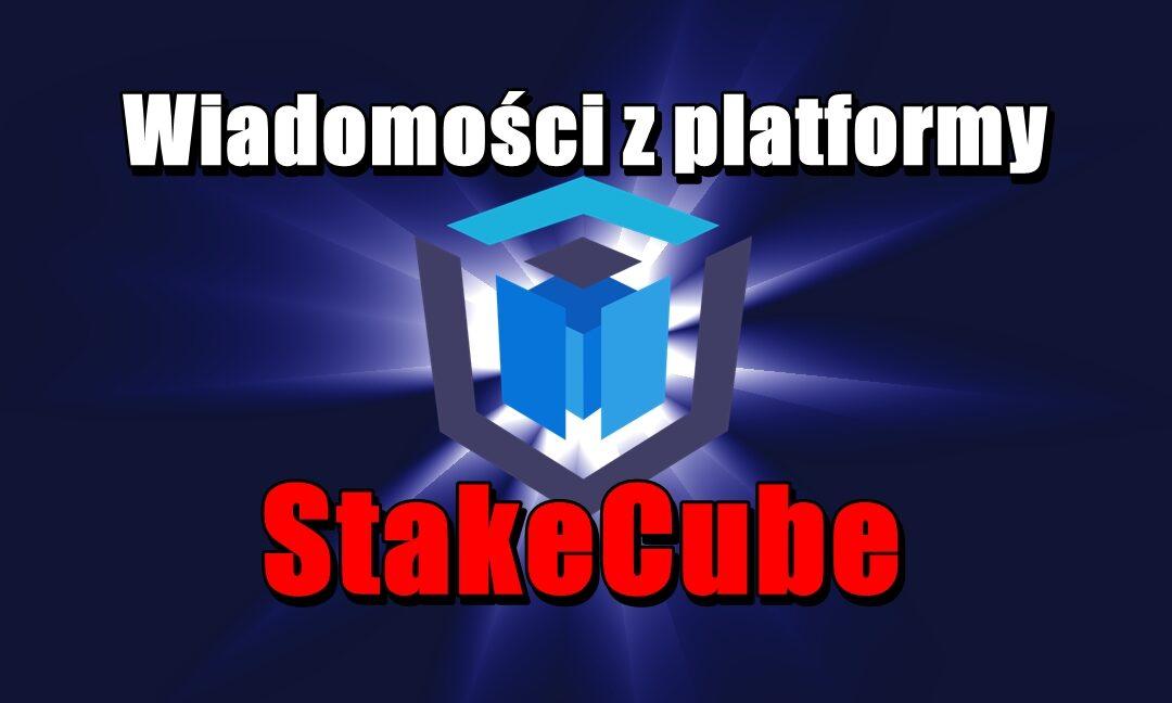 Wiadomości z platformy StakeCube