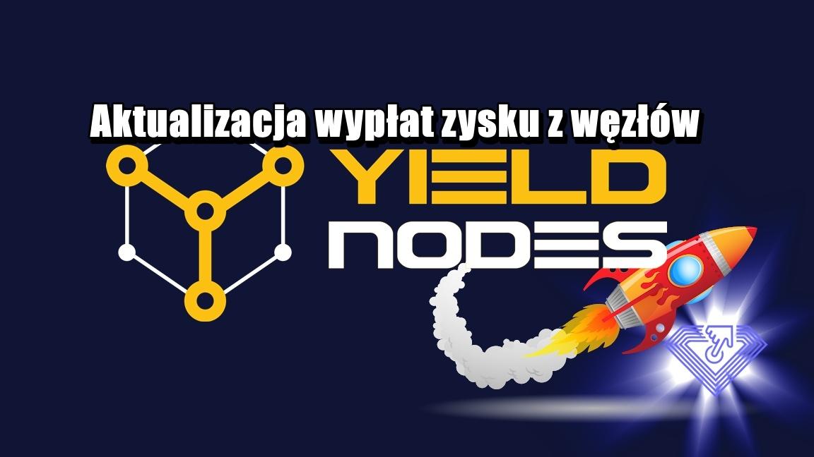 Aktualizacja wypłat zysku z węzłów YieldNodes
