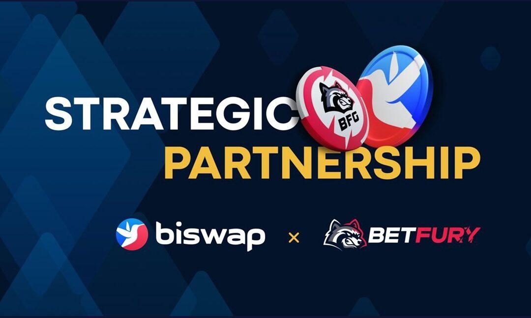 Partnerstwo strategiczne Biswap i BetFury !