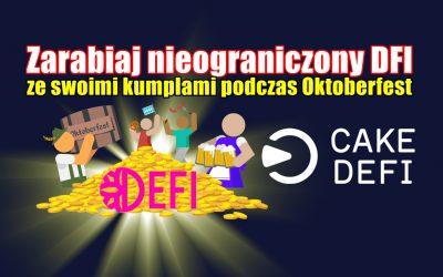Zarabiaj nieograniczony DFI ze swoimi kumplami podczas Oktoberfest.