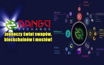 Rango Exchange - jednoczy świat swapów, blockchainów i mostów!