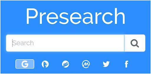 wyszukiwarka Presearch